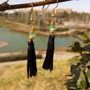 Buy black-earrings online price €24.95 Euro